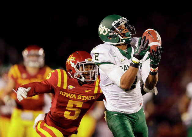 6. Terrance Williams, WR, BaylorHe's got the size, speed and statistics, and this is his chance to move into the second spot at his position. Photo: Charlie Neibergall
