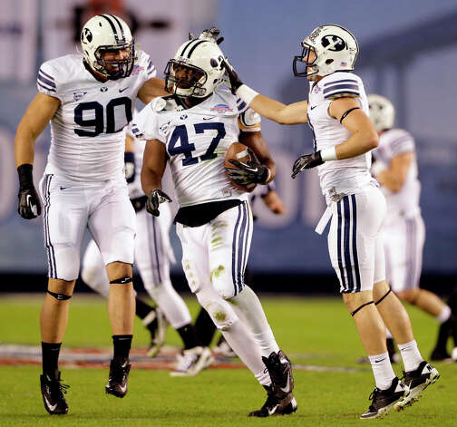 8. Ezekiel Ansah, DE, BYUHas played football for three years and started only one year, but he has exceptional talent off the edge. Photo: Lenny Ignelzi
