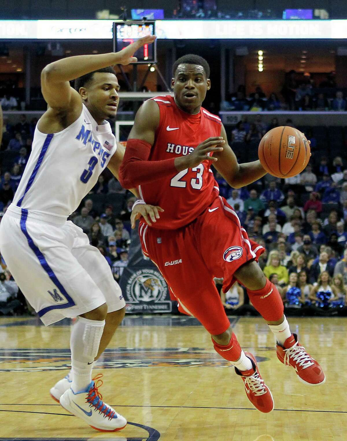For the Coogs, the first American Athletic Conference tournament will be in the familiar confines of the FedExForum.