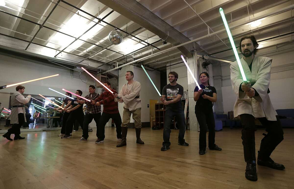 Golden Gate Knights. Who didn't immediately pick up a broomstick after the Obi-Wan and Darth Vader lightsaber duel in