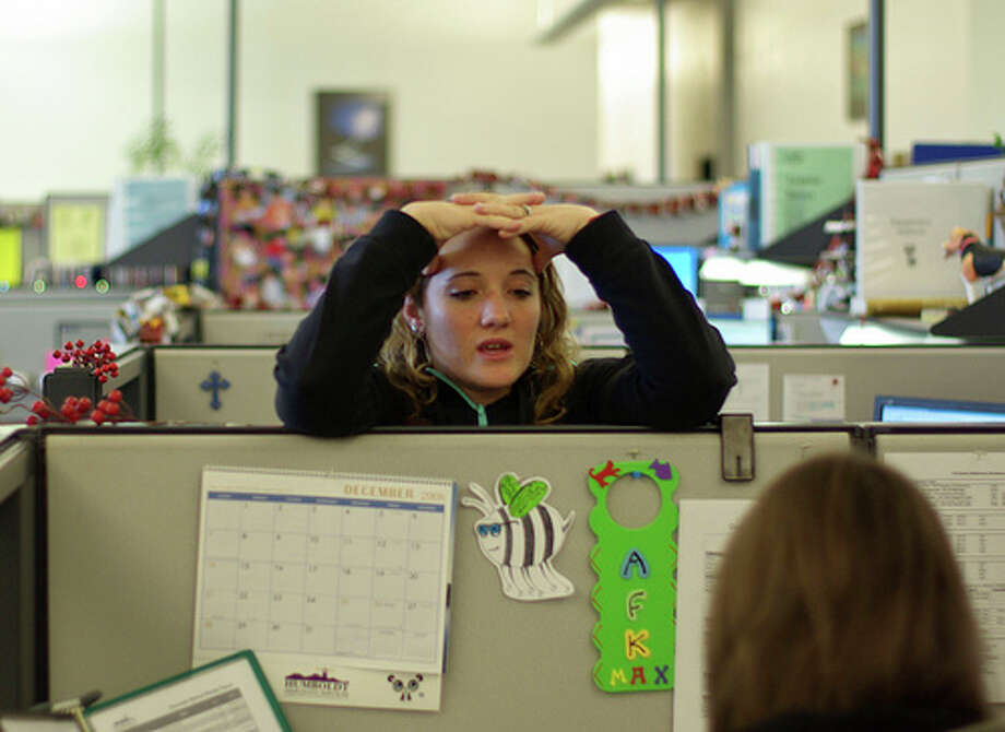 Employees spend about 14 percent of their time chit- chatting with colleagues, according to PayScale.com.Source: PayScale     Read more about crimes of the cubicle. Photo: Flickr