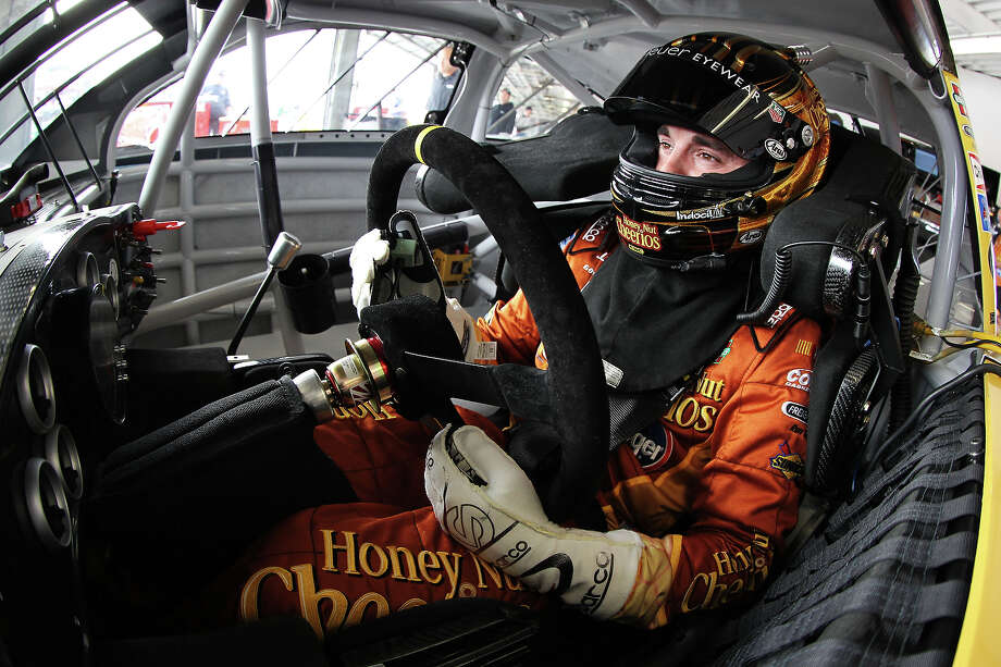 Austin Dillon, driver of the #33 Honey Nut Cheerios Chevrolet, during practice for the NASCAR Sprint Cup Series Daytona 500. Photo: Todd Warshaw, Getty Images / 2013 Getty Images