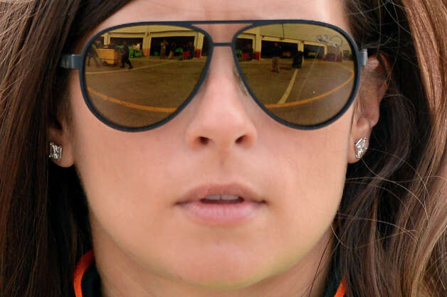 Danica Patrick, driver of the #10 GoDaddy.com Chevrolet, during practice for the NASCAR Sprint Cup Series Daytona 500 at Daytona International Speedway on February 16, 2013. Photo: Jared C. Tilton, NASCAR Via Getty Images / 2013 NASCAR