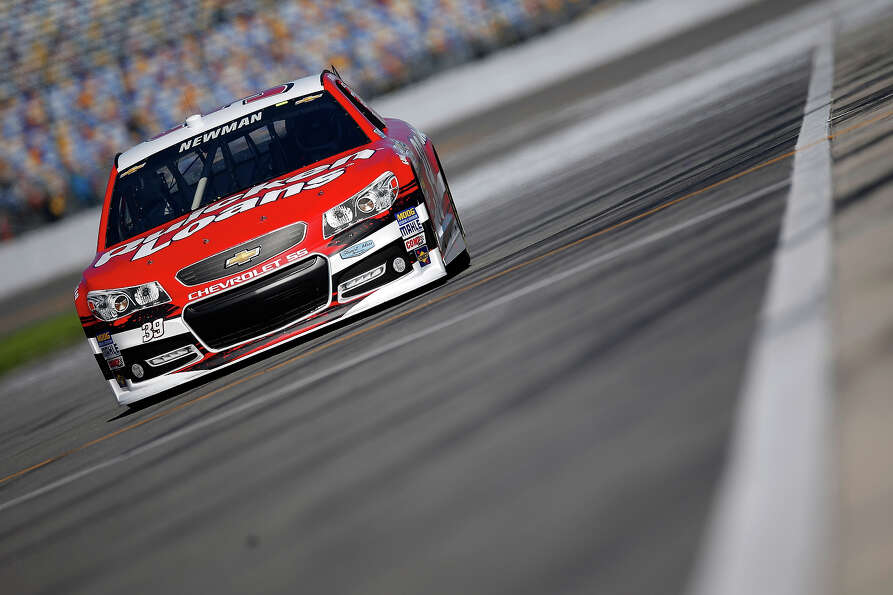 Ryan Newman, driver of the #39 Quicken Loans Chevrolet, during qualifying for the NASCAR Sprint Cup