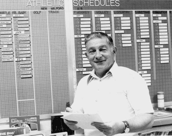 Joe Wiser, athletic director at New Milford High School from the late 1940s until 1980, died Jan. 7, 2000 at the age of 76.  Courtesy of the Wiser family Photo: Contributed Photo, Courtesy Of The Wiser Family / The News-Times Contributed