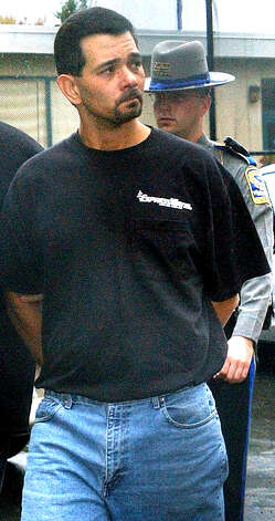 Ronald Rajcok, one of those convicted in the rape-murder of New Milford 13-year-old Maryann Measles in 1997, is sentenced in 2005 to 36 years in prison.  Spectrum file photo Photo: Contributed Photo