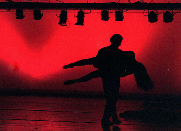 The Connecticut Conservatory's spring dance concert finale featured a stunning Ode to 9/11 at New Milford High School on April 27, 2002  Photo by Rich Pomerantz Photo: Contributed Photo, Rich Pomerantz/Spectrum / The News-Times Contributed