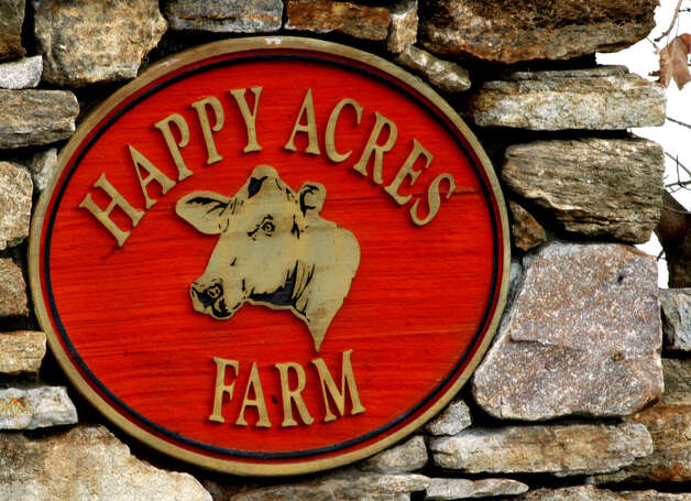 The iconic Happy Acres Farm in Sherman was brought under the town's umbrella for posterity, March 3, 2007 Photo: Norm Cummings