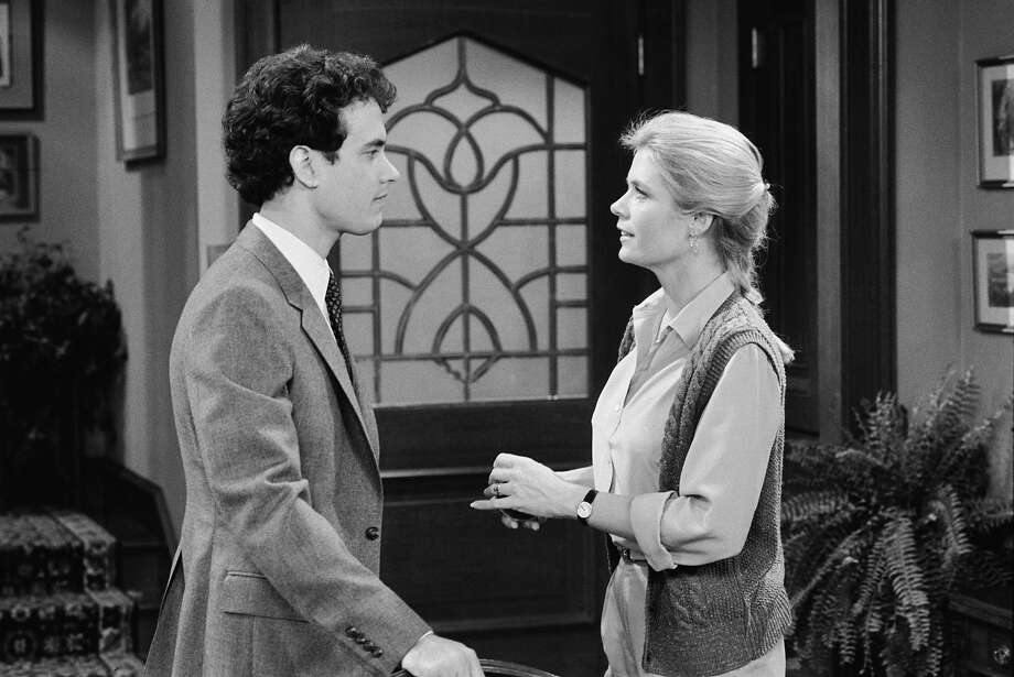 "Meredith Baxter as Elyse Keaton in ""Family Ties."" (Yes, that is Tom Hanks)An ex-hippie, a feminist, a working mom — and a woman who raised an ardent Young Republican — Elyse Keaton was a portrait of tolerance. Photo: NBC, NBC Via Getty Images / 2012 NBCUniversal, Inc."