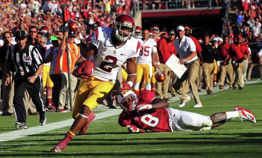 Wide receiver: Robert Woods (USC) Photo: Lance Iversen, The Chronicle / ONLINE_YES
