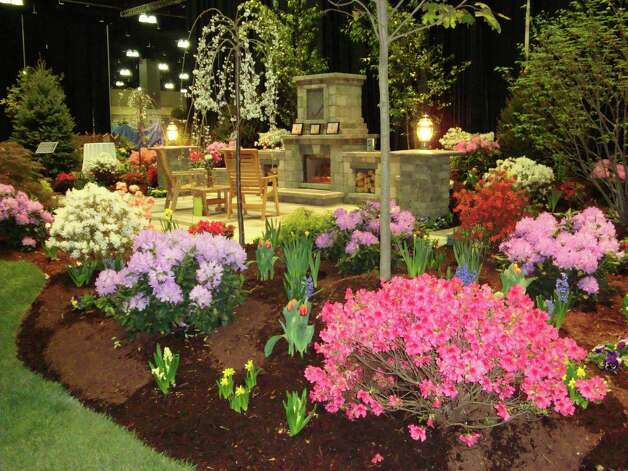 Landscaped gardens, seminars, displays and products will greet visitors to the 32nd annual Connecticut Flower & Garden Show set to take place Thursday, Feb. 21 to Sunday, Feb. 24, 2013, at the Connecticut Convention Center in Hartford, Conn. For more information on hours and admission, call 860-844-8461 or visit http://www.ctflowershow.com Photo: Contributed Photo