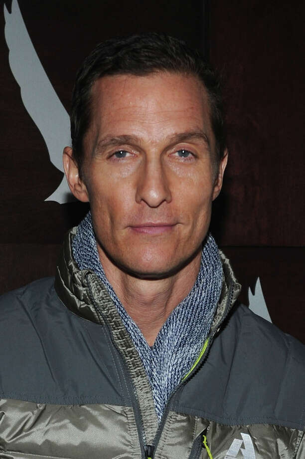 "PARK CITY, UT - JANUARY 19:  Actor Matthew McConaughey attends the Grey Goose Blue Door ""Mud"" Dinner on January 19, 2013 in Park City, Utah.  (Photo by Jamie McCarthy/Getty Images for Grey Goose) Photo: Jamie McCarthy, Staff / 2013 Getty Images"