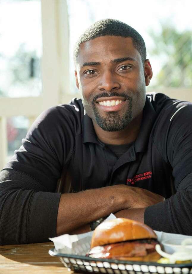 Greg Gatlin photographed at his restaurant, Gatlin's BBQ, on Thursday, Feb. 14, 2013, in Houston. ( Smiley N. Pool / Houston Chronicle ) Photo: Smiley N. Pool, Staff / © 2013  Houston Chronicle
