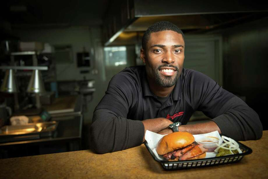Greg Gatlin photographed at his restaurant, Gatlin's BBQ, on Thursday, Feb. 14, 2013, in Houston. ( Smiley N. Pool / Houston Chronicle ) Photo: Smiley N. Pool, Staff / © 2013  Houston Chronicle