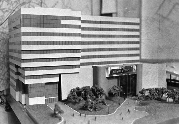 A model of the Saks Fifth Avenue store coming to Stamford Town Center mall in Stamford, Conn. Photo: File Photo