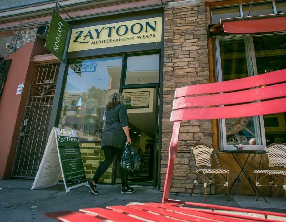 The exterior of Zaytoon.