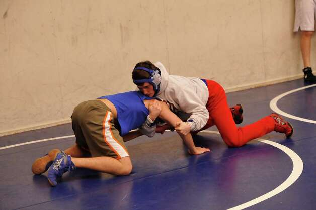 Two West Brook wrestlers are going to the State Wrestling Tournament in Austin Thursday morning. They are seniors Austin Hemmings and Kadeem Charles.  Dave Ryan/The Enterprise