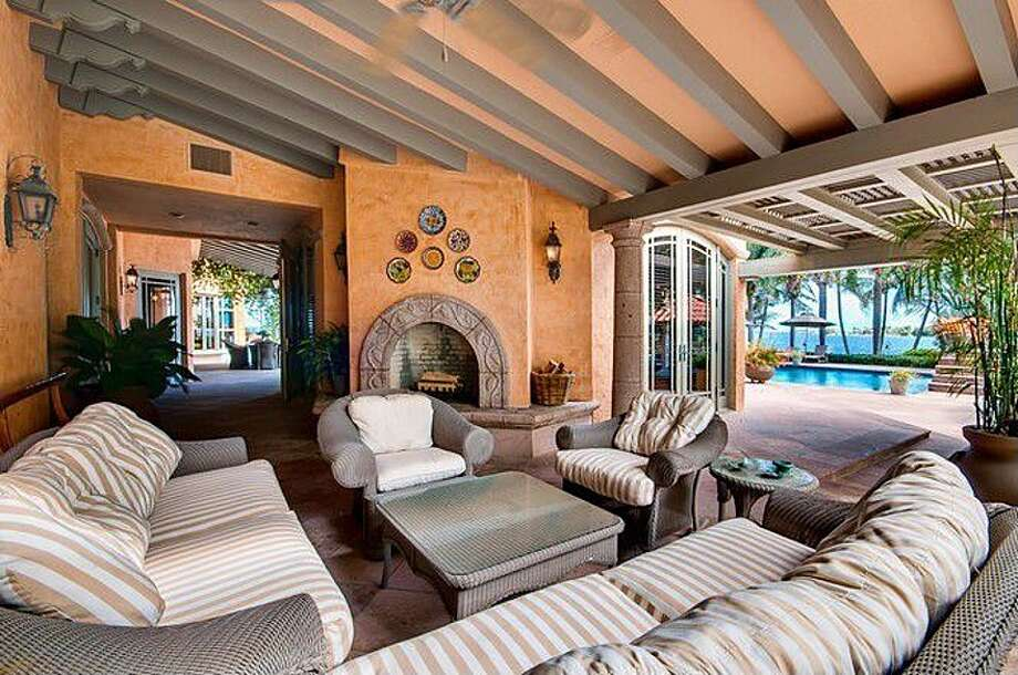 Drinks on the patio? Why not. All photos via Zillow/Esslinger-Wooten-Maxwell Inc.