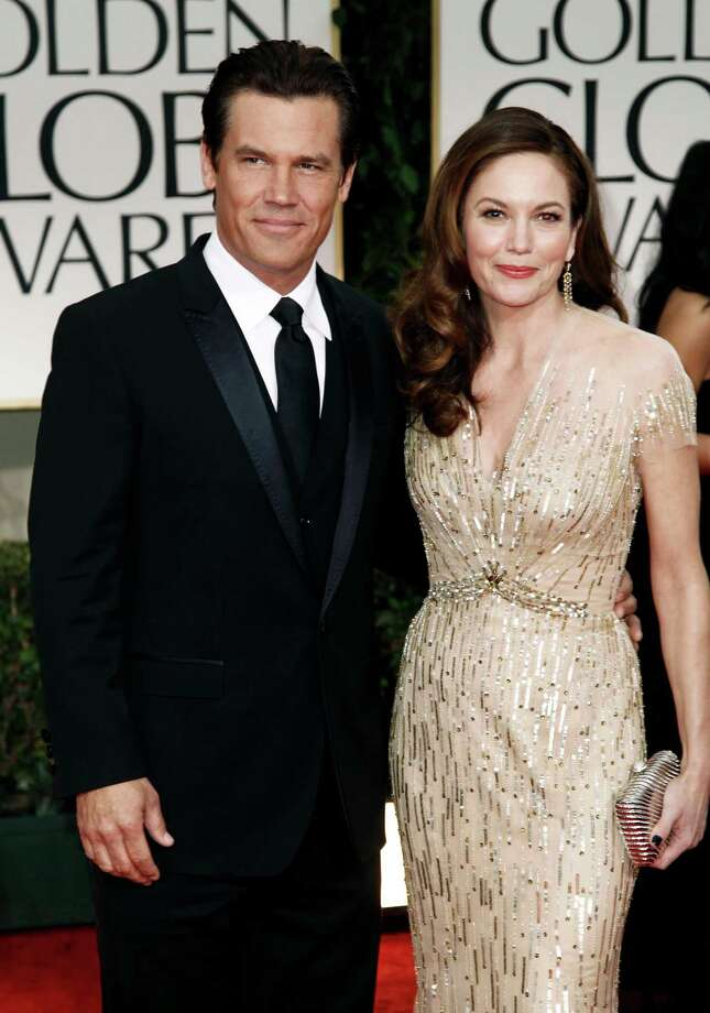 FILE - This Jan. 15, 2012 file photo shows actors Josh Brolin, left, and Diane Lane at the 69th Annual Golden Globe Awards in Los Angeles. Lane and Brolin are divorcing after eight years of marriage.  A representative for the couple confirmed the split Thursday, Feb. 21, 2013. Brolin and Lane were married in 2004, the second marriage for both. (AP Photo/Matt Sayles, file) Photo: Matt Sayles