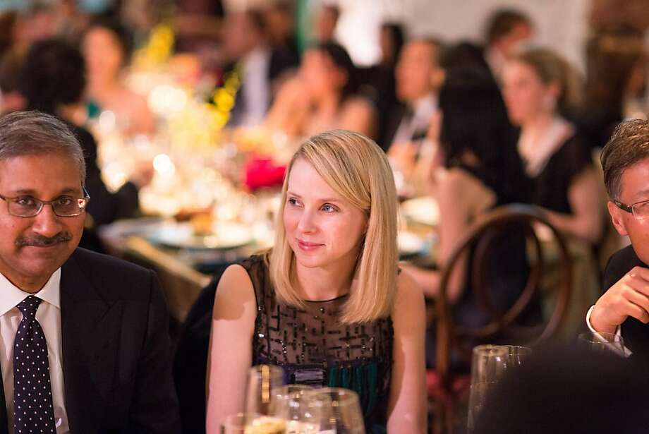 Yahoo CEO Marissa Mayer, at an Asian Art Museum gala, is part of the new guard of arts philanthropy and sits on the boards of SFMOMA and the Ballet. Photo: Drew Altizer Photography, Drew Altizer