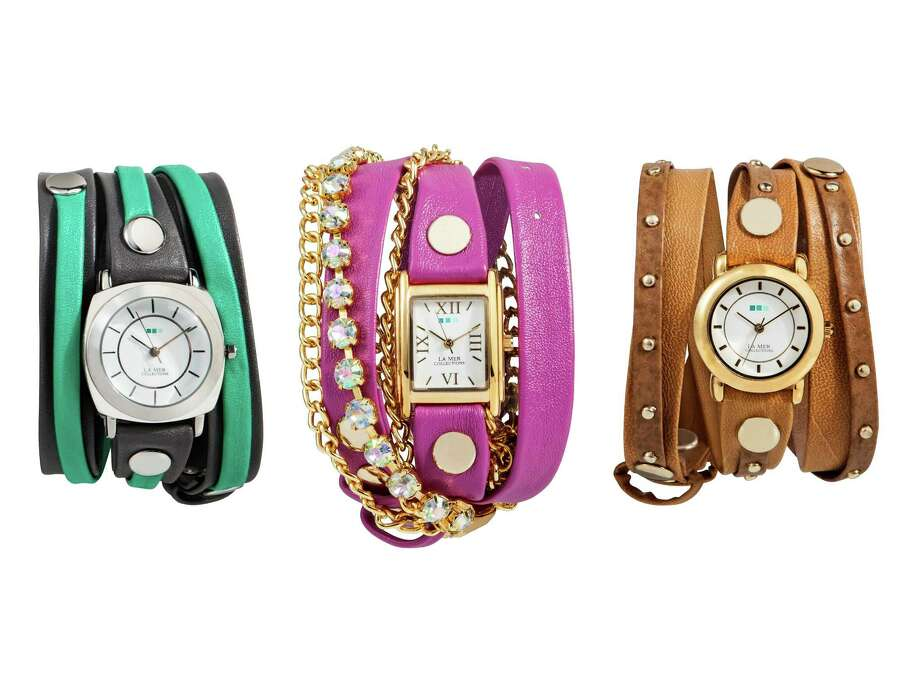 style: Wrap bracelet watches from Target for spring 2013 Photo: Target