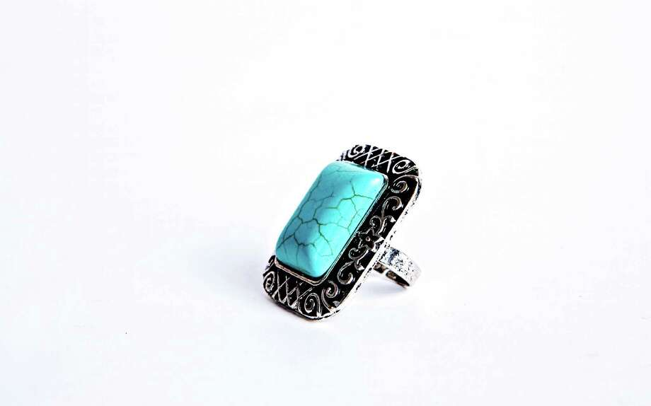 Charming Charlie  ring, $8; at Charming Charlie stores. Photo: Charming Charlie
