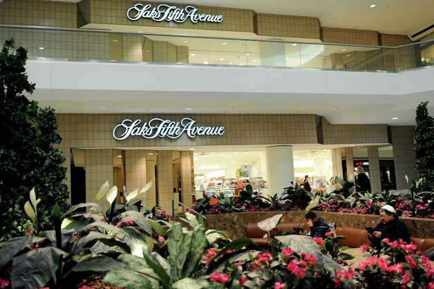 Saks Fifth Avenue in Stamford Town Center on Thursday, February 21, 2013. Photo: Lindsay Perry / Stamford Advocate