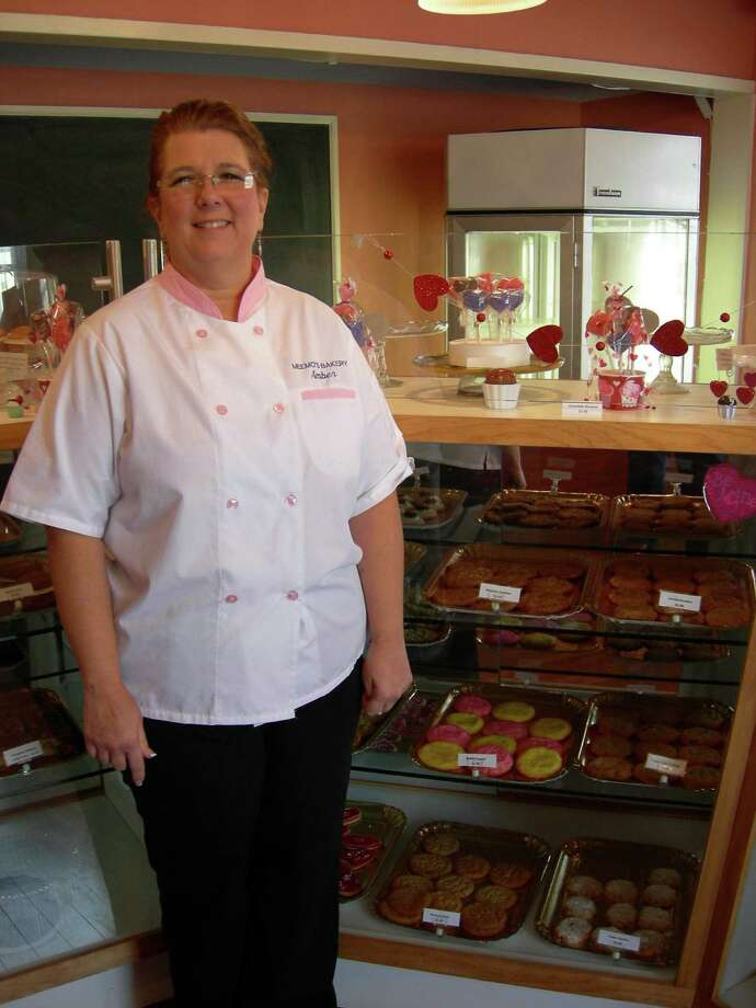 "Amber Palacios, also known as ""Meemo,"" turned her cake decorating hobby into a business at Meemo's Bakery. Photo: Stefanie Arias / San Antonio Express-News"