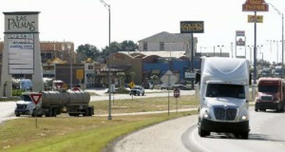 Increasing truck traffic is one of the big topics of discussion in the Eagle ford Shale region. (Tom Reel/Express-News)