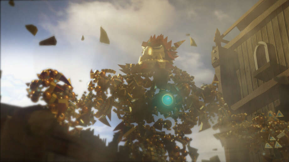 Screenshot from Knack on the PS4. Photo: Picasa