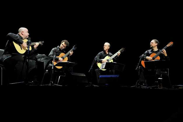 Los Angeles Guitar Quartet (Courtesy the artists)