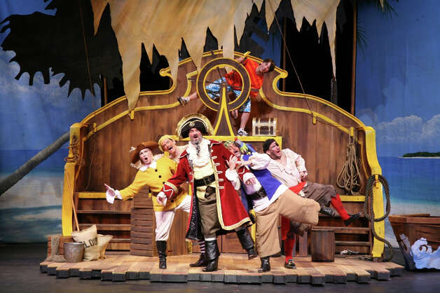 "The Omaha Theater Company's staging of the best-selling children's book ""How I Became a Pirate"" will be presented at the Westport Country Playhouse on Sunday, March 3 at 1 and 4 p.m. The Nebraska troupe is the third largest professional children's theater company in the country and tours to more than 25 states each year. Photo: Contributed Photo"