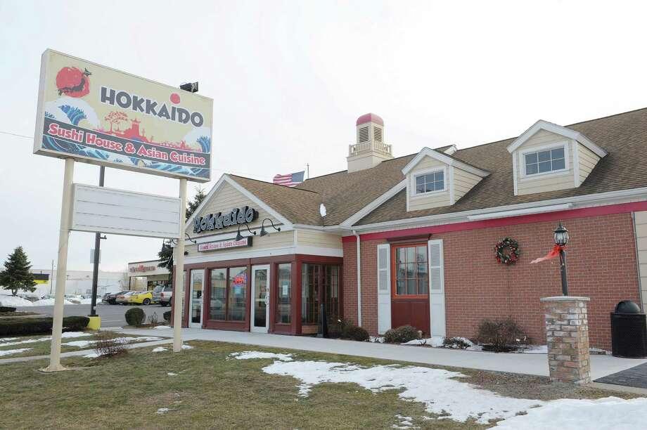 A view of the outside of the Hokkaido Asian Bistro and Full Bar on Sunday, Feb. 17, 2013 in Albany, NY.  (Paul Buckowski / Times Union) Photo: Paul Buckowski