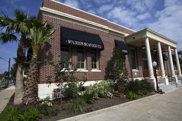 McAdoo's Seafood Co. is housed in the first federal post office built in New Braunfels. It's named for William G. McAdoo, a U.S. senator.