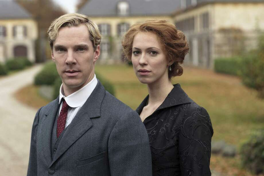 Benedict Cumberbatch and Rebecca Hall play a dysfunctional married couple in the period miniseries 'Parade's End.' Photo: HBO