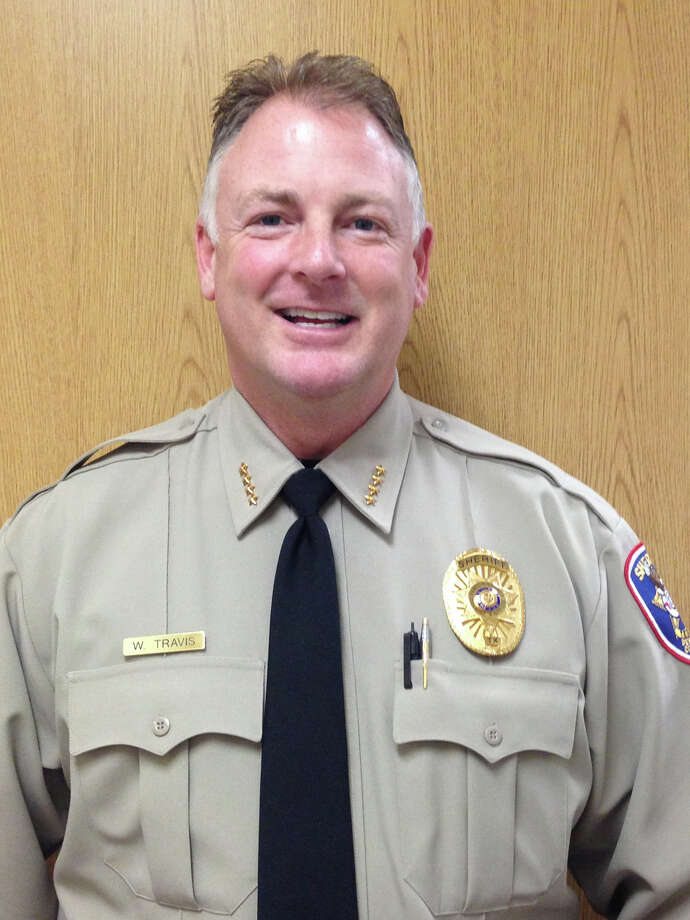 Denton County Sheriff WIlliam B. Travis is the fifth-great nephew of William Barret Travis