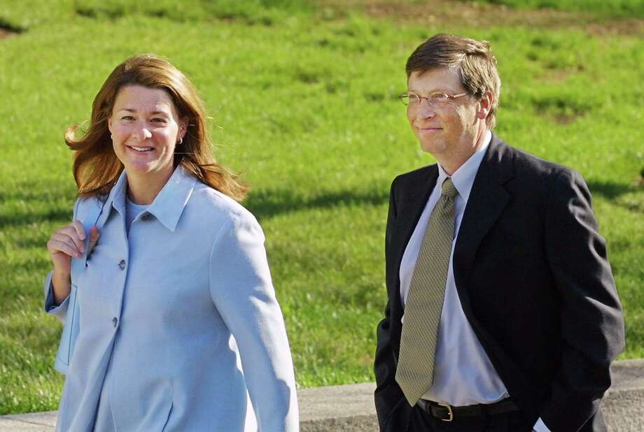 Also on the list were:Microsoft Chairman Bill Gates and his wife Melinda. Photo: Manny Ceneta, Getty / Getty Images North America