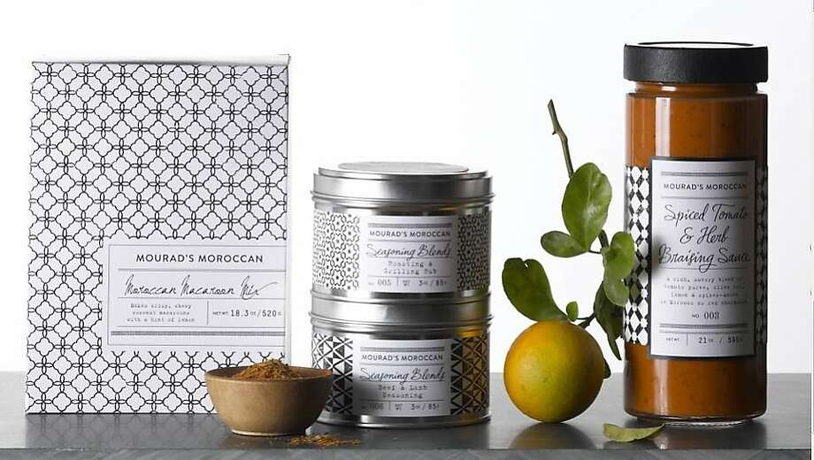 Aziza chef-owner Mourad Lahlou has developed a line of Moroccan spices and seasonings for Bay Area retailer Williams-Sonoma. Photo: Williams-Sonoma