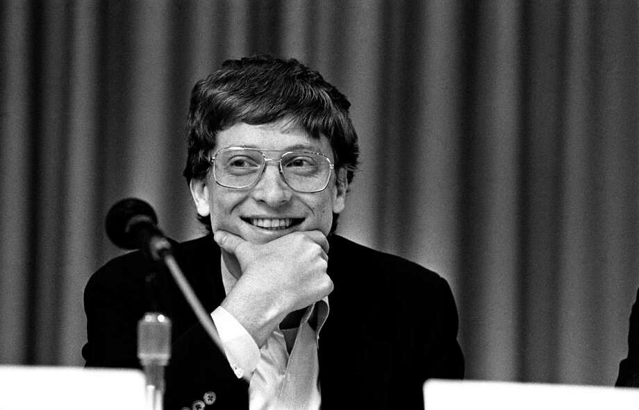 Bill Gates, from Microsoft, at the annual PC Forum, Phoenix, Arizona, February 22-25, 1987. Photo: Ann Yow-Dyson/Getty Images, Getty / Photo by Ann Yow-Dyson, all rights reserved
