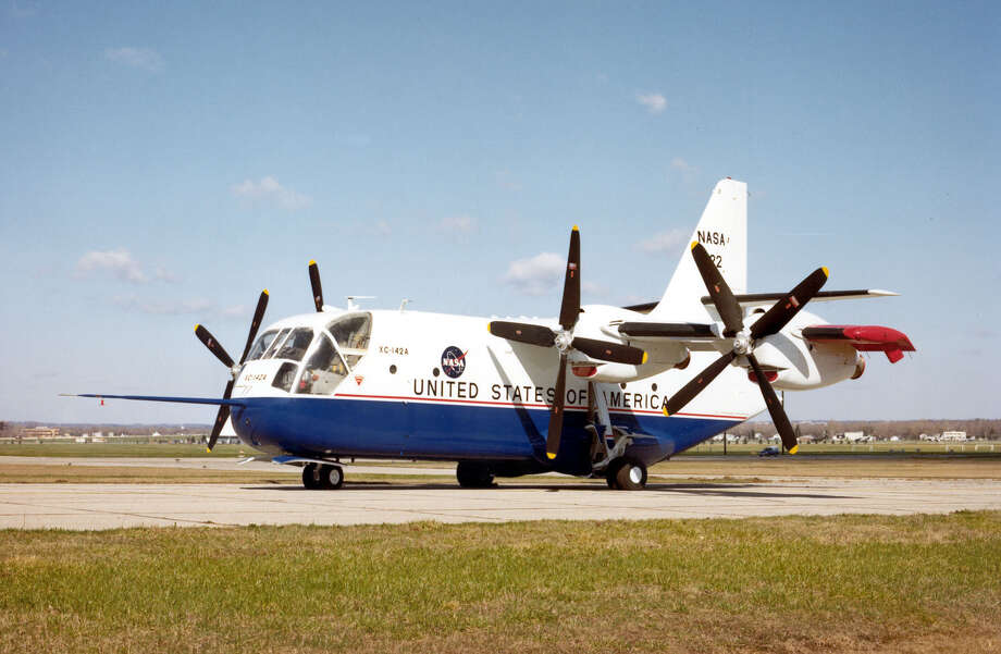 The Chance-Vought/LTC XC-124A was an experimental aircraft designed to look into the feasibility of vertical/short takeoff and landing transports. Photo: U.S. Air Force