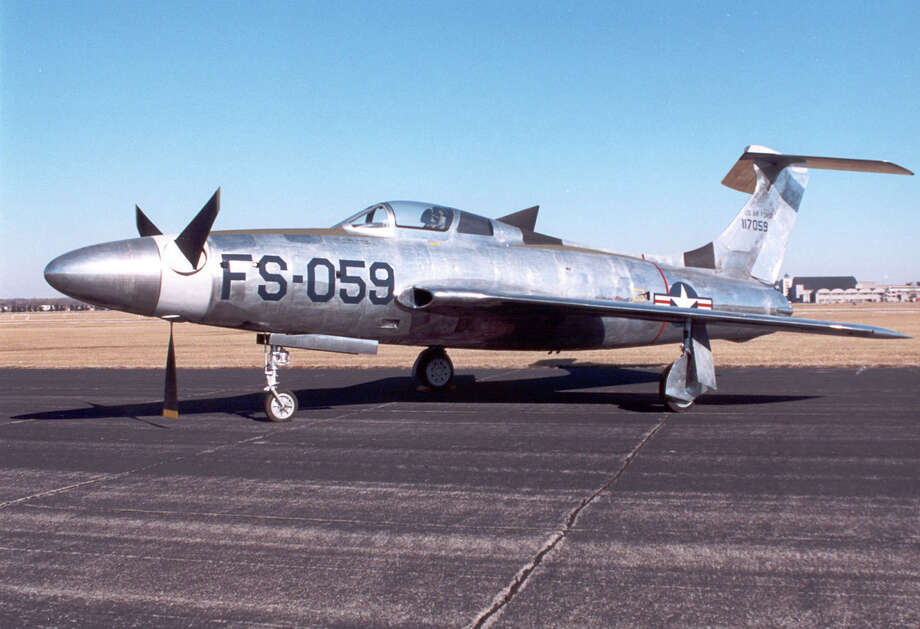 The Republic XF-84H was designed to combine the speed of jets with the long range, low fuel consumption and low landing speed of propeller aircraft. It made 12 test flights in 1955 and 1956. Eleven of those flights ended in emergency landings. Poor performance and high maintenance requirements kept the aircraft from becoming operational. Photo: U.S. Air Force