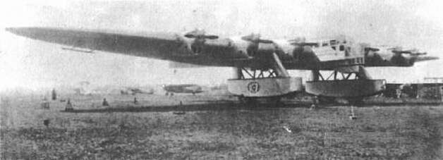 The Kalinin K-7 came out before World War II, but we can't resist including it. It was an experimental Soviet aircraft that flew seven times in 1933 before crashing. It had a wingspan of 174 feet (33 feet more than a Boeing B-29 Superfortress), was 92 feet long (seven feet less than a B-29) and used seven engines. Two more were ordered but not completed. The program was canceled in 1935. Fictional drawings depicting the aircraft as much more exotic circulate on the web. Photo: Wikimedia Commons