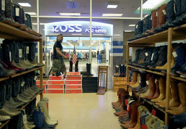 One can buy walking boots for the 742,000 square-foot Wonderland of the Americas at new mall tenant Cowtown Boots or clothes at the Ross store across the way.
