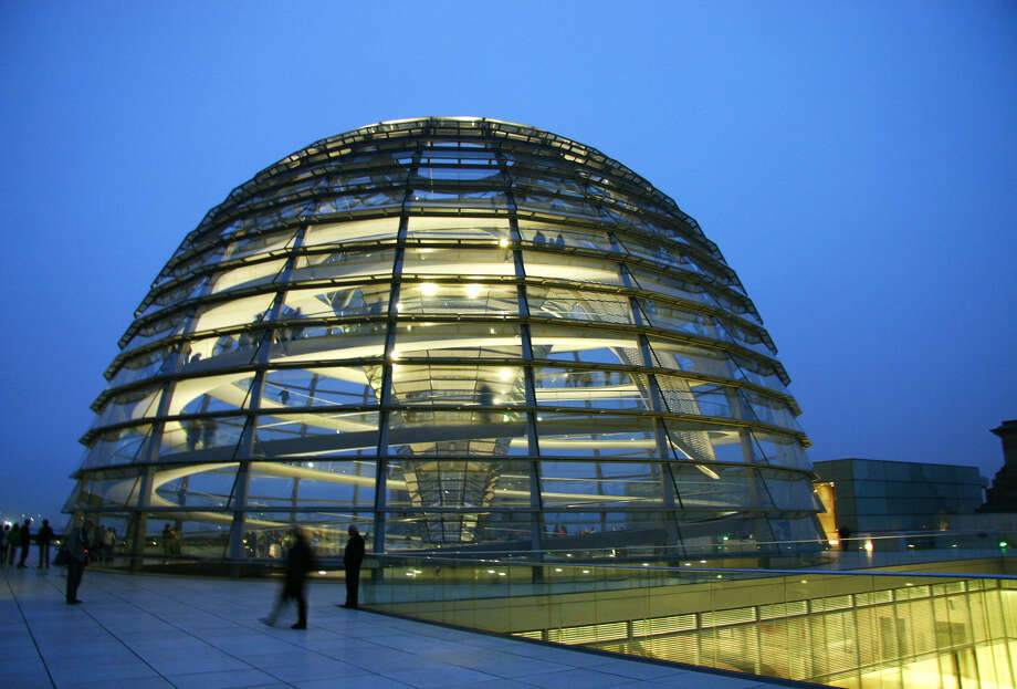 In Berlin, a convenient online ticketing system is making it easier to visit the Reichstag's roof terrace and dome. Photo: Laura VanDeventer, Ricksteves.com