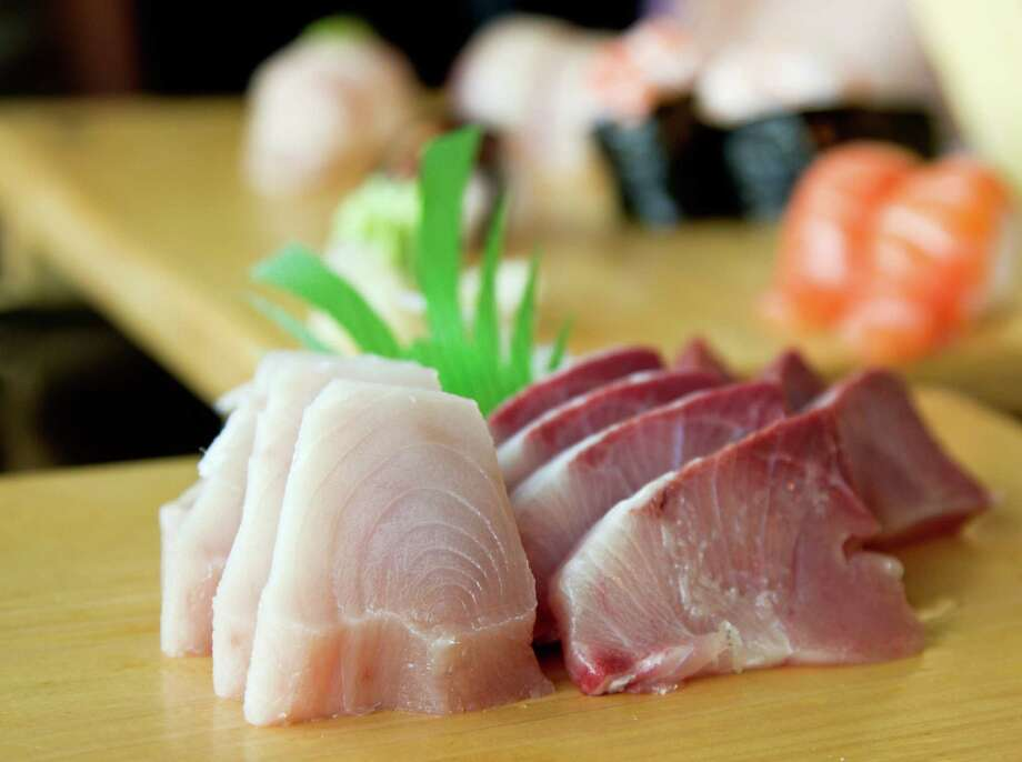 """Wait, how can every piece of yellowtail be mislabeled? That must have raised the fish-fraud rate for sushi places. Yes, it did. Oceana considers fish """"mislabeled"""" if it wasn't named in line with the FDA. The feds say only one species of amberjack fish can be called """"yellowtail"""" (pictured, left).   But """"yellowtail"""" is often used to refer to different kinds of amberjack. Researchers think this vernacular use - plus a possible language barrier - contributes to the problem. Photo: Kevin Tuong, Getty Images/Flickr Open / Flickr Open"""