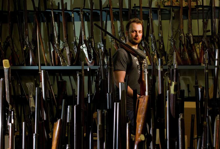 Kyle Coplen, 29, a University of Houston public administration graduate student, is starting a nonprofit organization that will train and arm law-abiding citizens with 20-gauge shotguns to deter criminals. Photo: Johnny Hanson, Staff / © 2013  Houston Chronicle