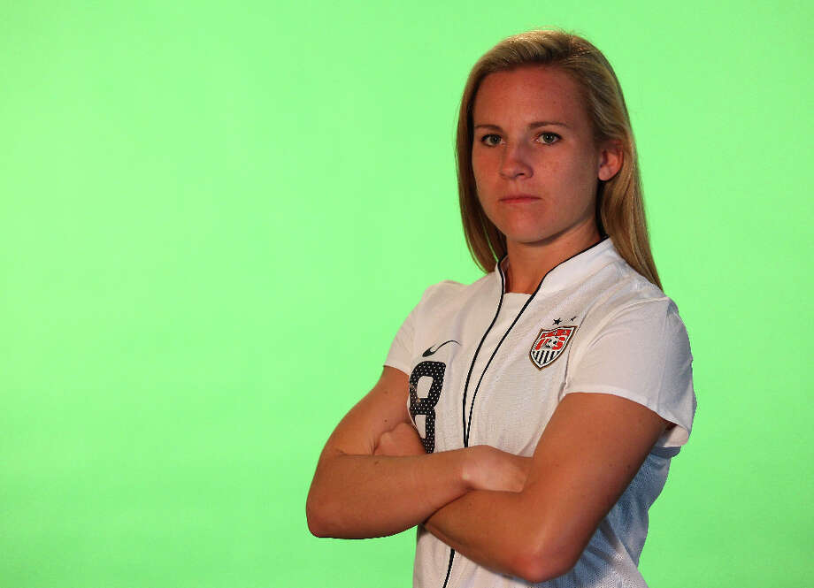 Amy RodriguezPosition: forwardAge: 25Hometown: Rancho Santa Margarita, Calif.Last club: U.S. national teamWill not play during 2013 NWSL season due to pregnancy. Photo: Alex Livesey - FIFA, FIFA Via Getty Images / 2011 FIFA
