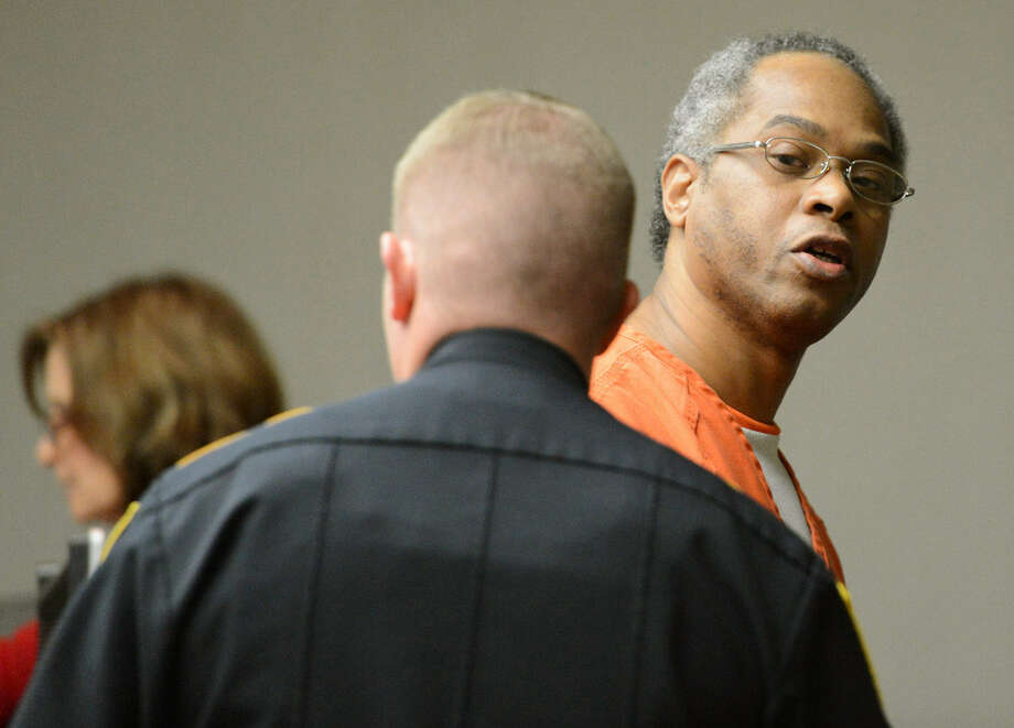 Carl Blue, 48, threw gasoline on ex-girlfriend Carmen Richards-Sanders in 1994 and set her on fire. He also threw gasoline on a man, who survived and testified against Blue. Photo: Dave McDerman / Bryan-College Station Eagle