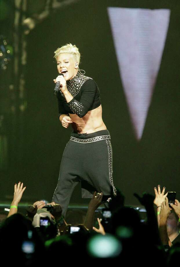 Pink In Concert Houston Chronicle