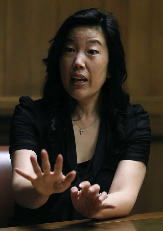 Michelle Rhee says school budgets lack the clarity parents and taxpayers need to make sound decisions. Photo: Paul Chinn, The Chronicle